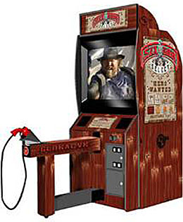 Western Six Gun Select Arcade Game